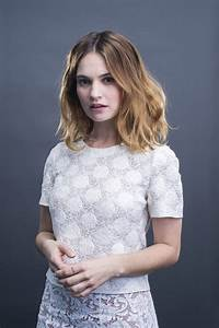 Q&A with actres... Lily James