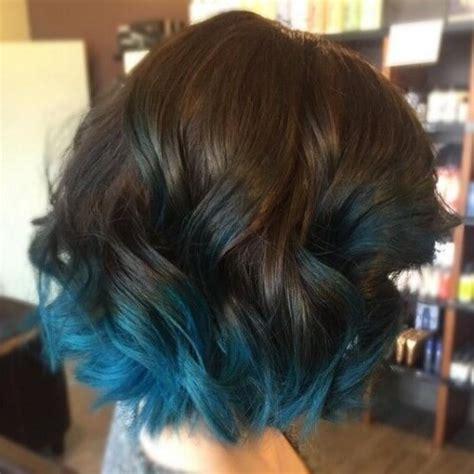 Blue Is The Coolest Color 50 Blue Ombre Hair Ideas Hair