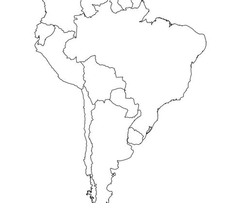 south america clipart unlabeled pencil   color