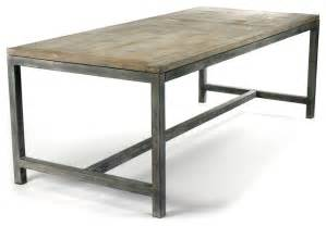 industrial kitchen furniture abner industrial modern rustic bleached oak gray dining table industrial dining tables