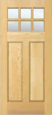 jeld wen  authentic wood glass panel exterior door