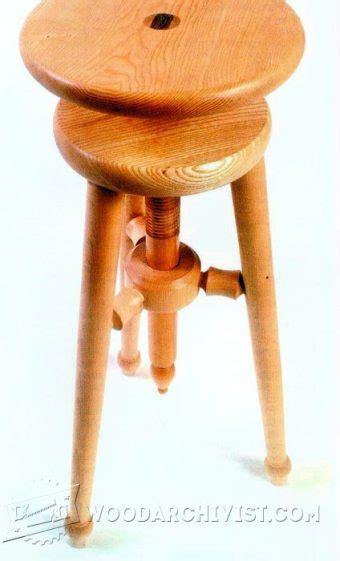 medieval folding stool plans woodarchivist