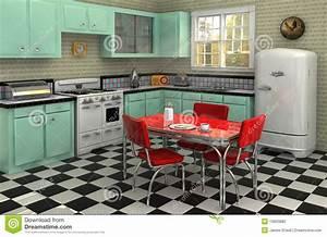 Cuisine Style Année 50 : cuisine des ann es 50 photo stock image 19920880 ~ Premium-room.com Idées de Décoration