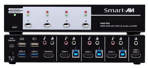 3 Kvm Switch by Hkm Pros 3 Hdmi 1 Mhl Kvm Switch With 3 Usb