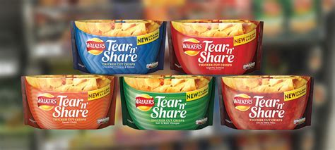 walkers tear crisps sharing launches bags savoury snacks betterretailing