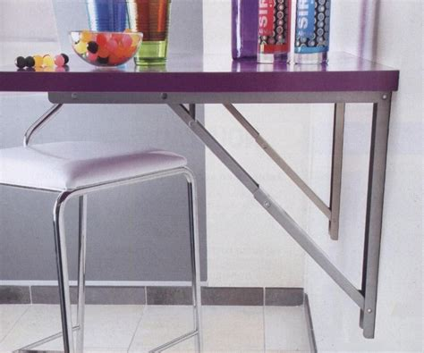 table rabattable pour cuisine les supports de table rabattables cuisines laurent