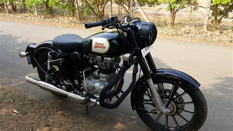 Modification Royal Enfield Bullet 350 by Royal Enfield Bullet 350 Classic Modified Wroc Awski
