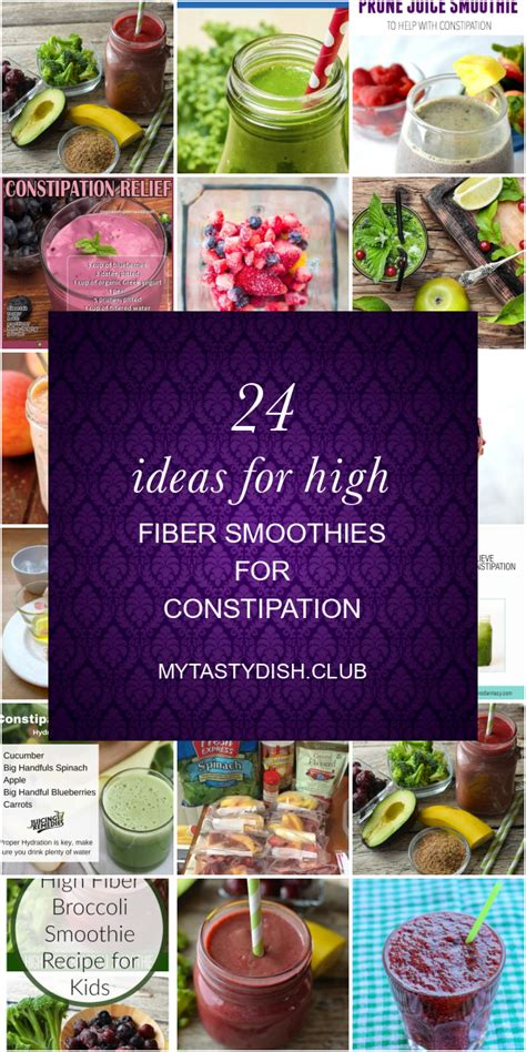 Muffins, smoothies, and meal ideas to help you get more fiber in your diet. 24 Ideas for High Fiber Smoothies for Constipation - Best Round Up Recipe Collections