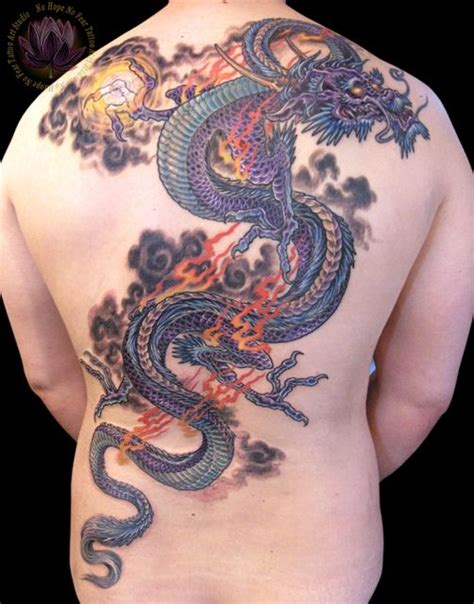 color dragon tattoo   tattooshuntcom