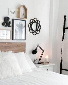 Nachttisch Zum Aufhängen : die besten 25 dekoleiter ideen auf pinterest leiter holz einfache holzarbeiten selber machen ~ Sanjose-hotels-ca.com Haus und Dekorationen