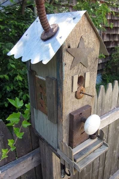 smart recycling ideas  making unique birdhouses