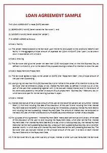 Loan Assignment Agreement Proposal Essay Outline Loan Assignment And