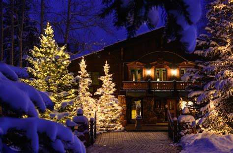 vail valley tree lighting christmas tree trunk wraps