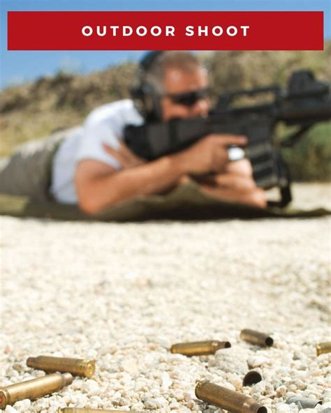 outdoor shooting range  las vegas machine guns