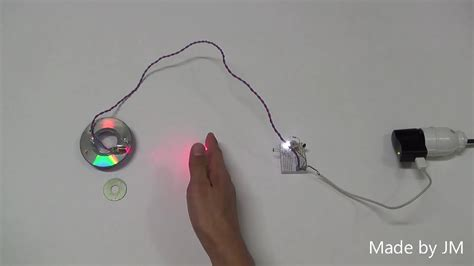 How Make Laser Alarm Security Circuit Breadboard