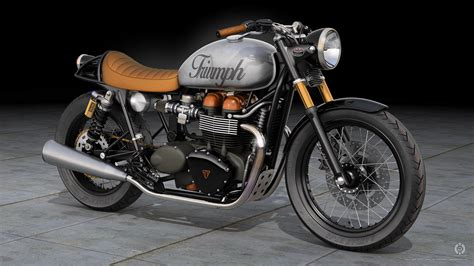 Triumph Bonneville Wallpaper (79+ Images