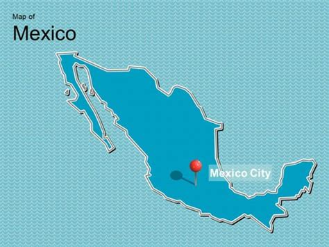 map  mexico template