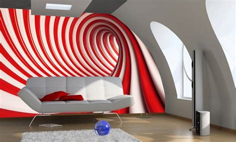 Rote Tapeten Wandgestaltung by Home Wall Wallpapers In And White Store