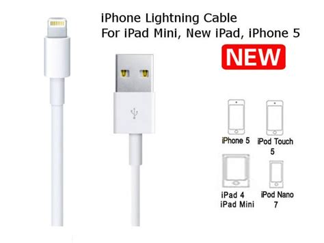 iphone 5 lightning cable original apple lightning to usb cable md818fe a for