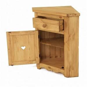 Meuble Angle Bois : meuble bas angle ~ Edinachiropracticcenter.com Idées de Décoration