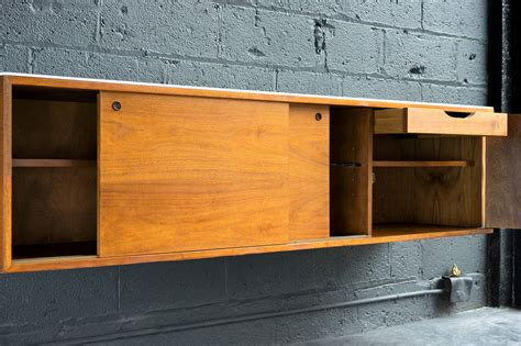 Wall-mounted Credenza By Mel Smilow At 1stdibs
