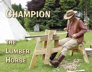 How to Make a Shaving Horse Permaculture magazine