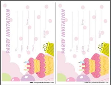 invitations party cards