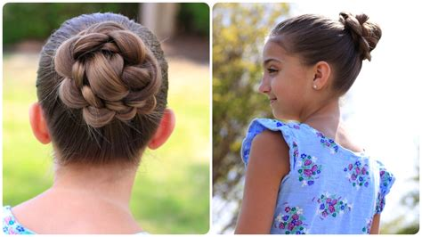 Braid Buns Cute Girls Hairstyles