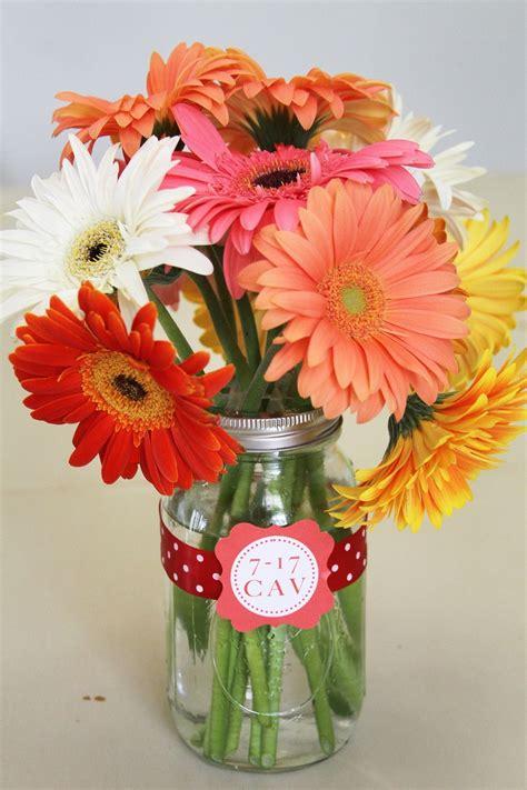 flowers in jars flowers in mason jar celebrations pinterest