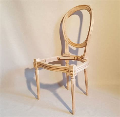 beaux sieges chaise medaillon a garnir les beaux sièges de
