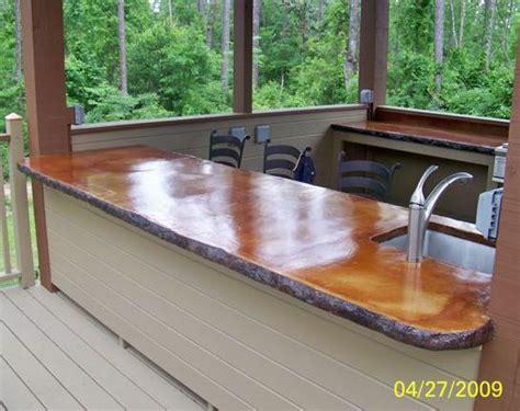 17+ Exquisite Concrete Outdoor Kitchen
