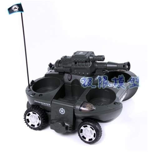 Remote Control Car Boat by Rc Tank Hibious Tank Car Hibious Toy Remote Control