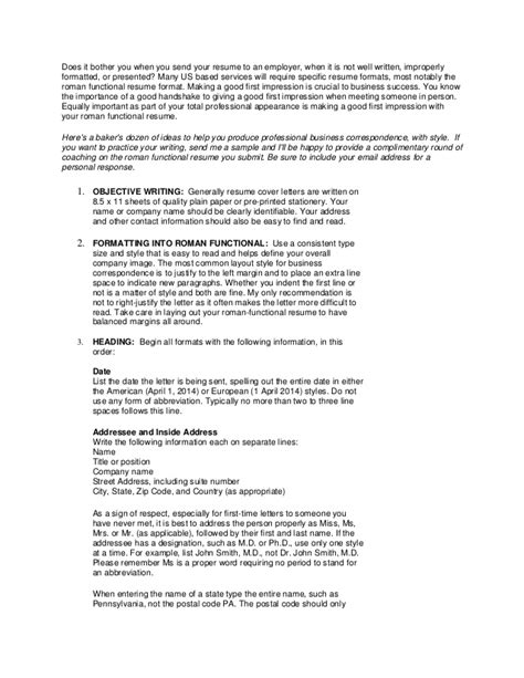 What Is Important To In A Resume by The Functional Resume Format Why Is It Important