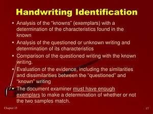PPT Document And Handwriting Analysis PowerPoint