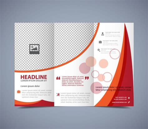 Brochure Design With Trifold Colorful Template Adobe Illustrator Tri Fold Brochure Template Brochure
