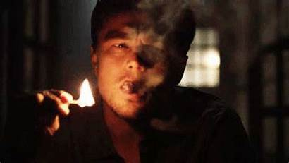 Smoking Cigar Gifs Leonardo Dicaprio Night Victory