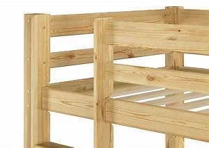 Kinderbett Massivholz 90x200 : etagenbett massivholz kiefer rollrost 90x200 stockbett kinderbett ebay ~ Whattoseeinmadrid.com Haus und Dekorationen