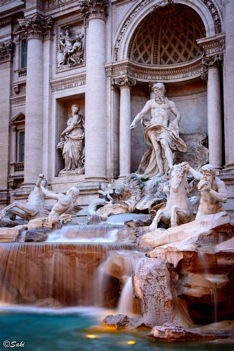 Trevi Fountain Rome Italy Passport Pinterest Coins
