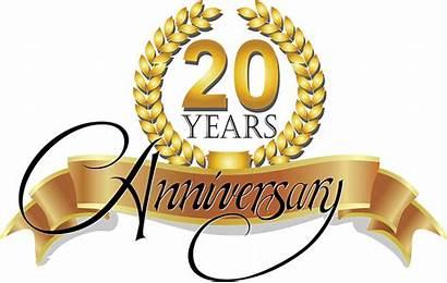 Anniversary Happy Clipart Pastor Church Service 20th