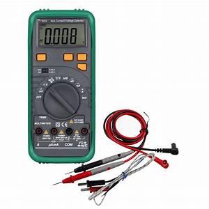 Digital Multimeter Voltage Current Meter Resistance Diode