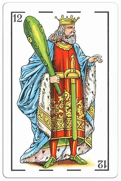 King Clubs Castille Portrait Cards Hearts Tarot