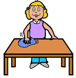 cleaning houses under the table clean the table clipart clipart panda free clipart images