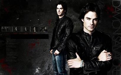 Ian Somerhalder Damon Salvatore Vampire Diaries Wallpapers