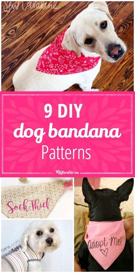diy dog bandana patterns dog bandana dog clothes