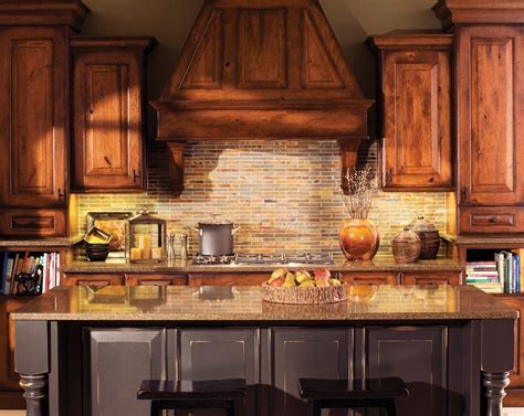 rustic cherry cabinets kitchen rustic with professional 48