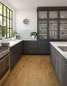 Cocinas, De, Concreto, Y, Azulejo, Modernas