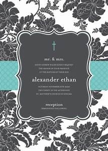 quick view dmddin 1012 quotblack and white brocade With wedding invitation text box