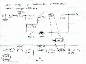automatic transfer switch ats using two magnetic With how to use ats