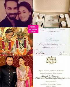 Saif Ali Khan And Kareena Kapoor Wedding Card | www.imgkid ...