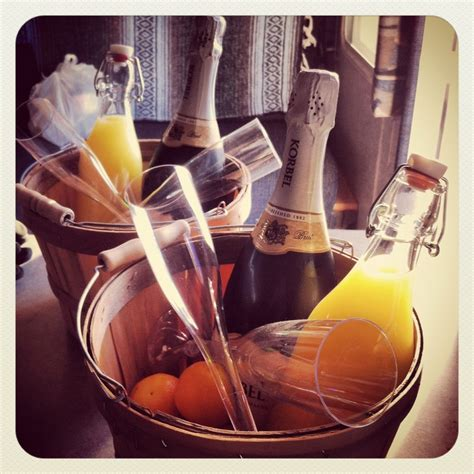 mimosa morning gift baskets mimosa gift basket brunch